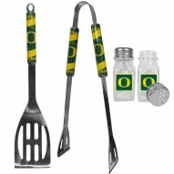 Oregon Ducks 2 Piece BBQ Set with Salt & Pepper Shakers