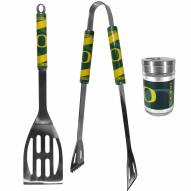 Oregon Ducks 2 Piece BBQ Set with Season Shaker