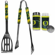 Oregon Ducks 2 Piece BBQ Set with Tailgate Salt & Pepper Shakers