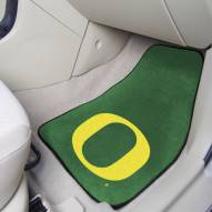 Oregon Ducks 2-Piece Carpet Car Mats