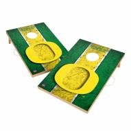 Oregon Ducks 2' x 3' Vintage Wood Cornhole Game