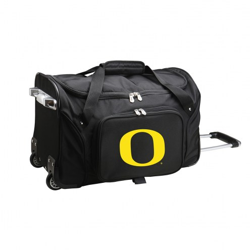 "Oregon Ducks 22"" Rolling Duffle Bag"
