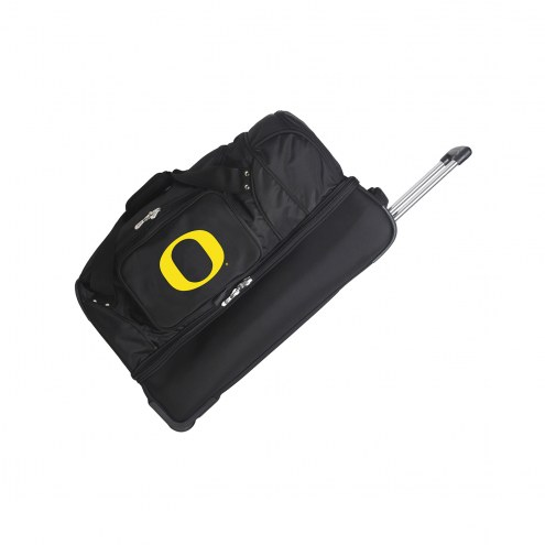 "Oregon Ducks 27"" Drop Bottom Wheeled Duffle Bag"