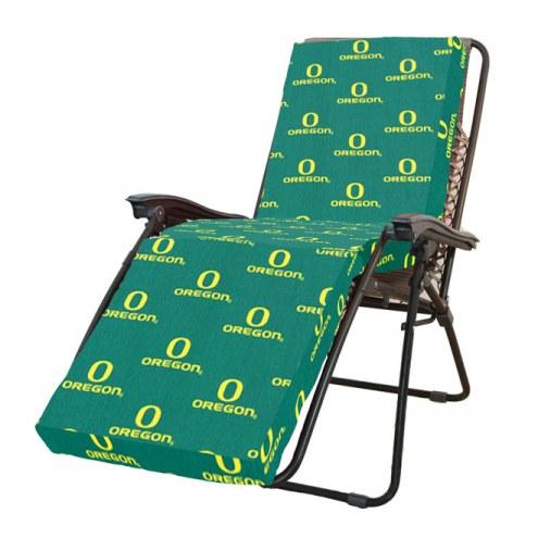 Oregon Ducks 3 Piece Chaise Lounge Chair Cushion