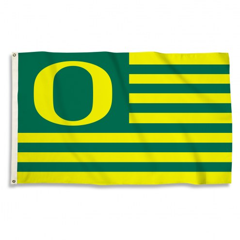 Oregon Ducks 3' x 5' Stripes Flag