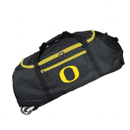 "Oregon Ducks 36"" Checked-in Wheeled Duffel"