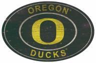 "Oregon Ducks 46"" Heritage Logo Oval Sign"