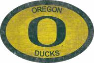 "Oregon Ducks 46"" Team Color Oval Sign"