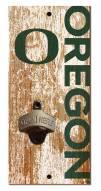 "Oregon Ducks 6"" x 12"" Distressed Bottle Opener"