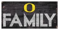 "Oregon Ducks 6"" x 12"" Family Sign"