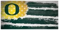 "Oregon Ducks 6"" x 12"" Flag Sign"