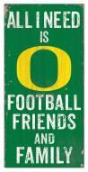 "Oregon Ducks 6"" x 12"" Friends & Family Sign"