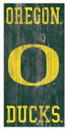 "Oregon Ducks 6"" x 12"" Heritage Logo Sign"