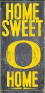 "Oregon Ducks 6"" x 12"" Home Sweet Home Sign"
