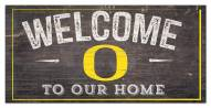 "Oregon Ducks 6"" x 12"" Welcome Sign"
