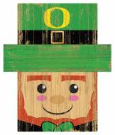 """Oregon Ducks 6"""" x 5"""" Leprechaun Head"""