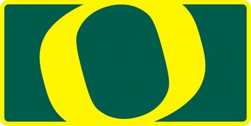 Oregon Ducks Acrylic Mega License Plate