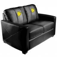 Oregon Ducks XZipit Silver Loveseat