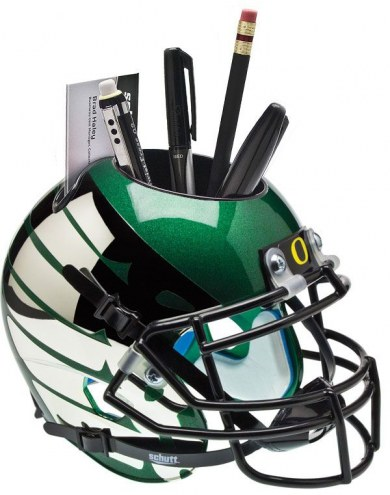 Oregon Ducks Alternate 6 Schutt Football Helmet Desk Caddy