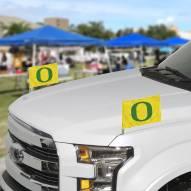 Oregon Ducks Ambassador Car Flags