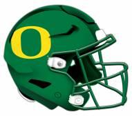 Oregon Ducks Authentic Helmet Cutout Sign