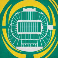 Oregon Ducks Autzen Stadium Print