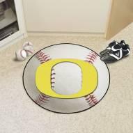 Oregon Ducks Baseball Rug
