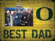 Oregon Ducks Best Dad Clip Frame