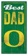 Oregon Ducks Best Dad Sign