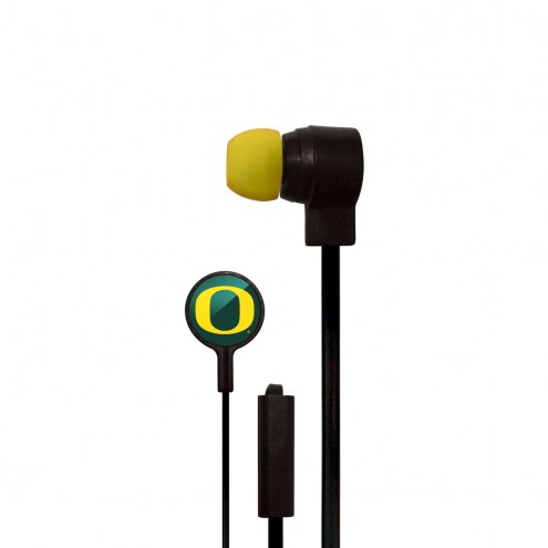 Oregon Ducks Big Logo Ear Buds