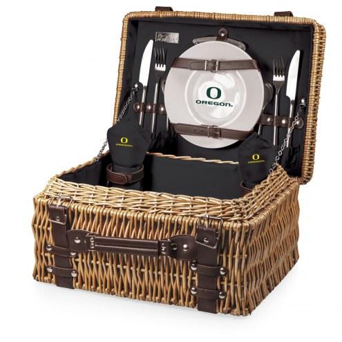 Oregon Ducks Black Champion Picnic Basket