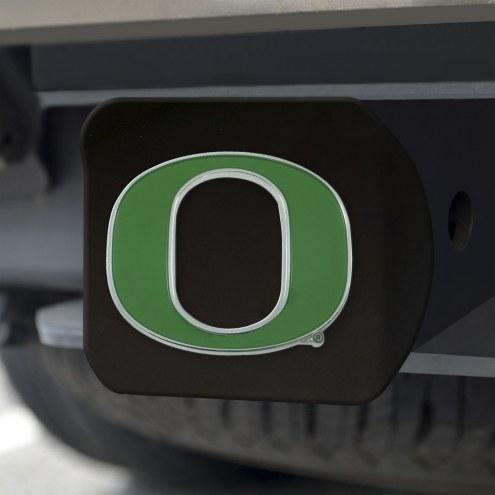 Oregon Ducks Black Color Hitch Cover