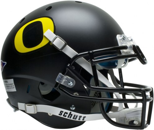 Oregon Ducks Black Schutt XP Authentic Full Size Football Helmet