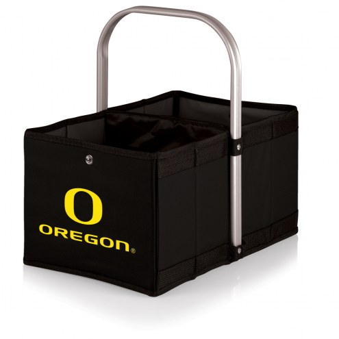 Oregon Ducks Black Urban Picnic Basket