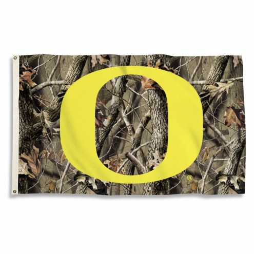 Oregon Ducks 3' x 5' Camo Flag