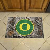 Oregon Ducks Camo Scraper Door Mat