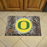 Oregon Ducks Camo Scraper Door Mat