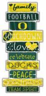 Oregon Ducks Celebrations Stack Sign