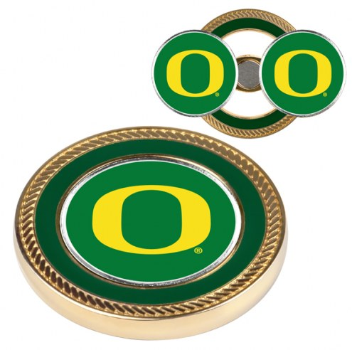 Oregon Ducks Challenge Coin with 2 Ball Markers