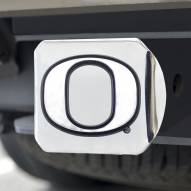 Oregon Ducks Chrome Metal Hitch Cover