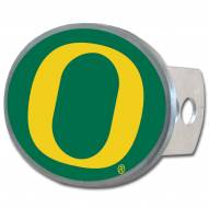 Oregon Ducks Class II and III Oval Metal Hitch Cover