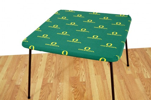 Oregon Ducks Card Table Cover