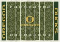 Oregon Ducks College Home Field Area Rug