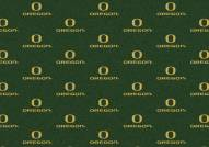 Oregon Ducks College Repeat Area Rug