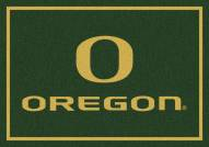 Oregon Ducks College Team Spirit Area Rug