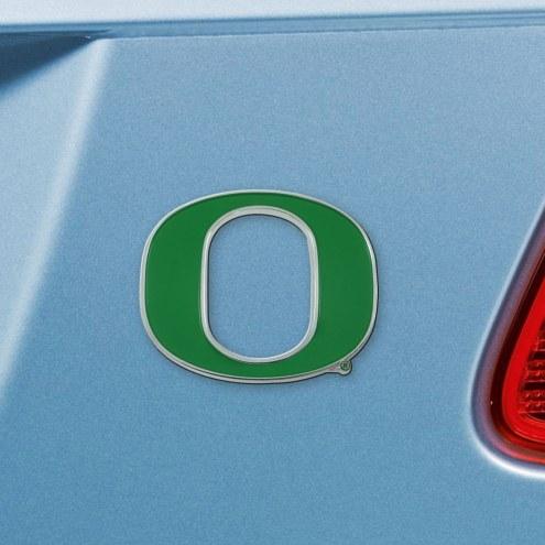 Oregon Ducks Color Car Emblem