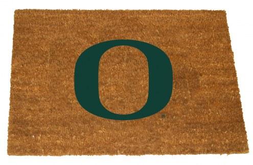 Oregon Ducks Colored Logo Door Mat