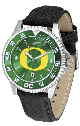 Oregon Ducks Competitor AnoChrome Men's Watch - Color Bezel