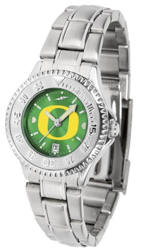 Oregon Ducks Competitor Steel AnoChrome Women's Watch