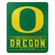 Oregon Ducks Control Fleece Blanket
